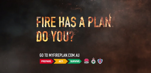 Don't give bushfire a chance. Click here to visit www.myfireplan.com.au - external link.