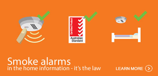 It's the law to have at least one working smoke alarm installed on every level of your home. Learn more about smoke alarms in the home here.