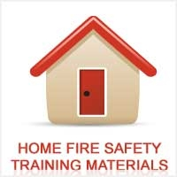 Basic home fire safety information.