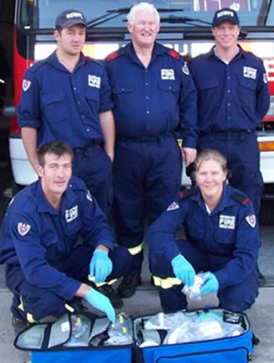 Uralla firefighters help to deliver a baby girl.