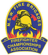 Fire and Rescue NSW (FRNSW) Firefighter Championships logo