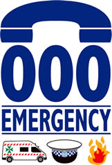 Emergency phone number, Australia: 000
