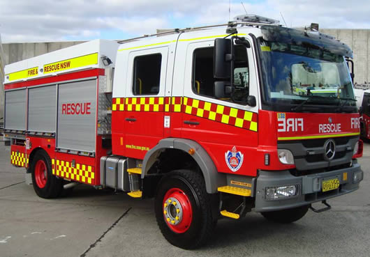 Vehicle Specifications And Photographs Fire And Rescue Nsw