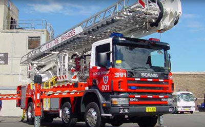 Photo of a Aerial Ladder Bronto