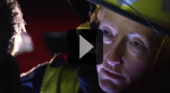 Retained Firefighter, Lucy Interview Video