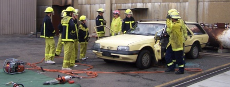 Students participating in the FRNSW Work Experience Program.