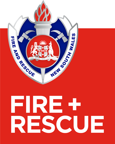 Our logo and name - Fire and Rescue NSW