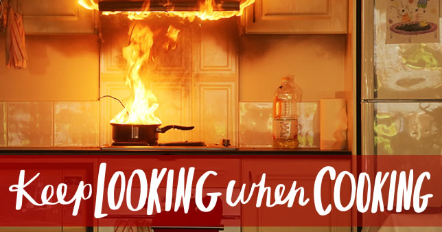 Keep Looking When Cooking Fire And Rescue Nsw